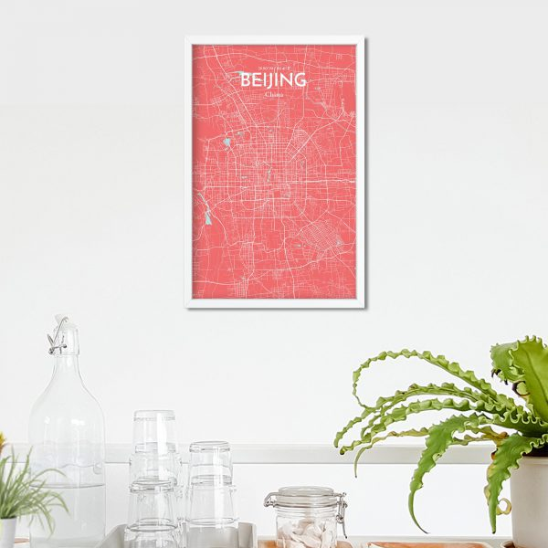 Beijing City Map Poster by OurPoster.com