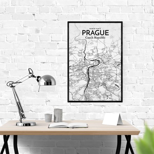 Prague City Map Poster by OurPoster.com