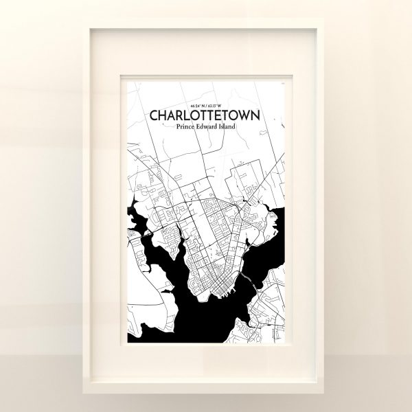 Charlottetown City Map Poster by OurPoster.com